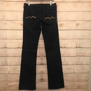 7 for all mankind jeans leopard detailing